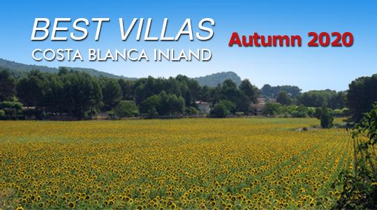 Discover the best villas in Costa Blanca Inland